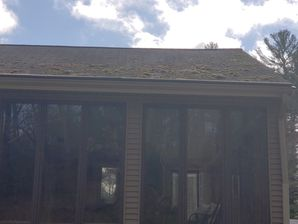 Before, During, & After Roof Cleaning in Rowler, MA (2)