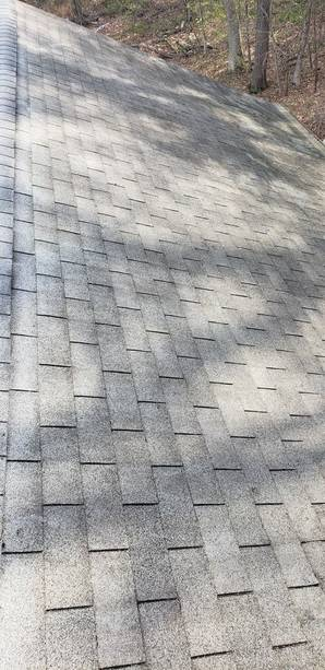 Before, During, & After Roof Cleaning in Rowler, MA (7)