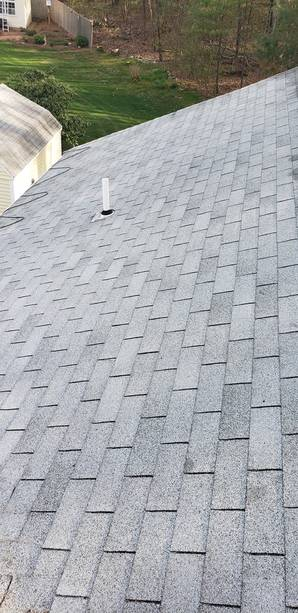 Before, During, & After Roof Cleaning in Rowler, MA (8)