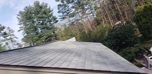 Before, During, & After Roof Cleaning in Rowler, MA (9)