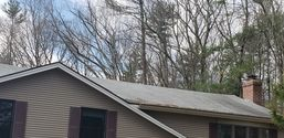 Before, During, & After Roof Cleaning in Rowler, MA (4)