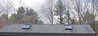 Before, During, & After Roof Cleaning in Rowler, MA (3)
