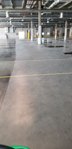 Commercial Facilities Floor Clean up - Before and After in Billerica, MA (2)