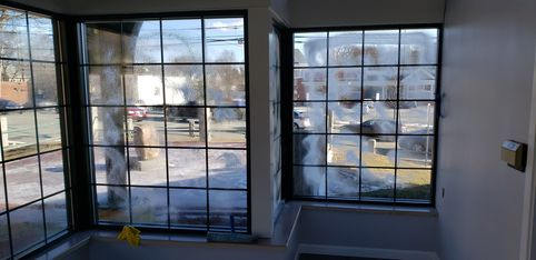 Commercial Cleaning with Windows (Before) in Worburn, MA. (1)