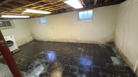 Mold Removal & Killing Before in Lynnfield, MA (5)