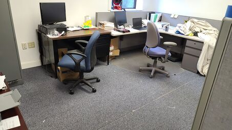 Before & After Office Cleaning in North Billerica, MA (1)