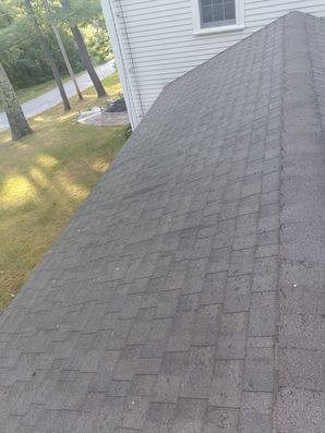 Before & After Roof Cleaning in Beverly, MA (2)