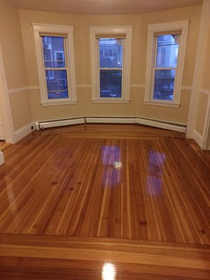 Woburn, MA House Cleaning - AFTER: Kitchen, Appliances & Floors (2)